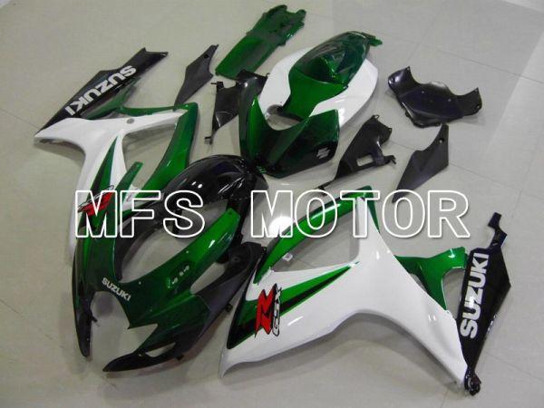 Suzuki GSXR600 GSXR750 2006-2007 Injection ABS Fairing - Factory - White Green - MFS4999