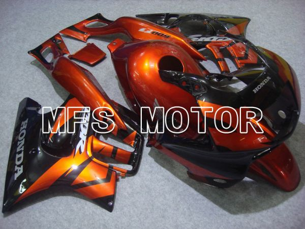 Honda CBR600 F3 1997-1998 Injection ABS Fairing - Factory Style - Black Orange - MFS5002