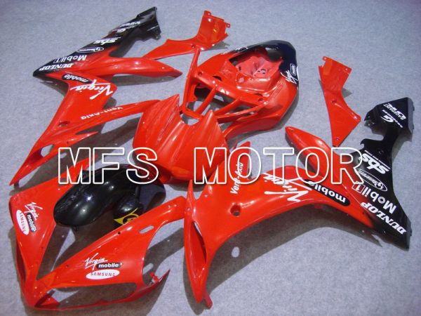 Yamaha YZF-R1 2004-2006 Injection ABS Fairing - DUNLOP - Red - MFS5003