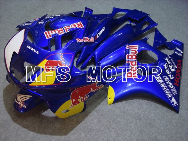 Honda CBR600 F3 1997-1998 Injection ABS Fairing - Red Bull - Blue - MFS5006