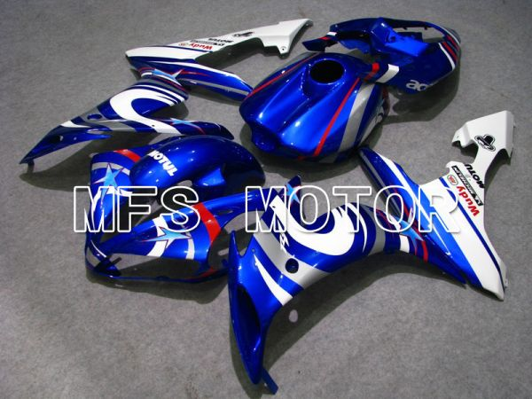 Yamaha YZF-R1 2004-2006 Injection ABS Fairing - FIAT - Blue White - MFS5011