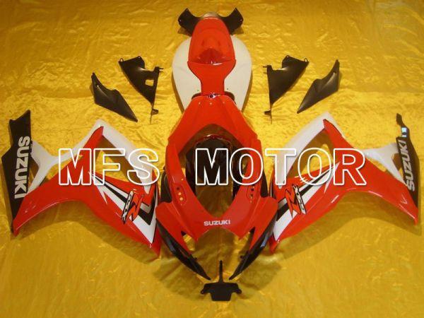 Suzuki GSXR600 GSXR750 2006-2007 Injection ABS Fairing - Factory - Red White - MFS5017