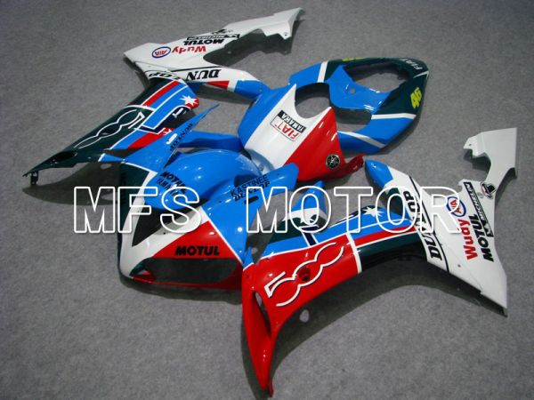Yamaha YZF-R1 2004-2006 Injection ABS Fairing - FIAT - Blue Green Red White - MFS5028