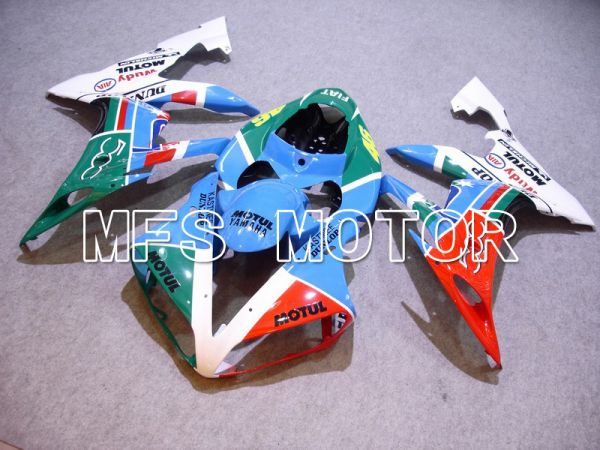 Yamaha YZF-R1 2004-2006 Injection ABS Fairing - FIAT - Blue Green Red White - MFS5029