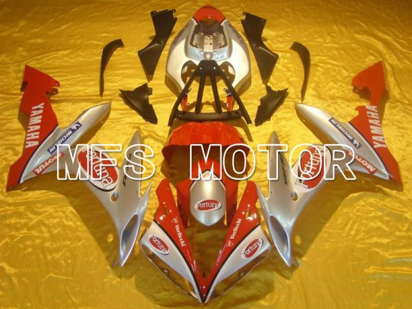 Yamaha YZF-R1 2004-2006 Injection ABS Fairing - Fortuna - Red Silver - MFS5034
