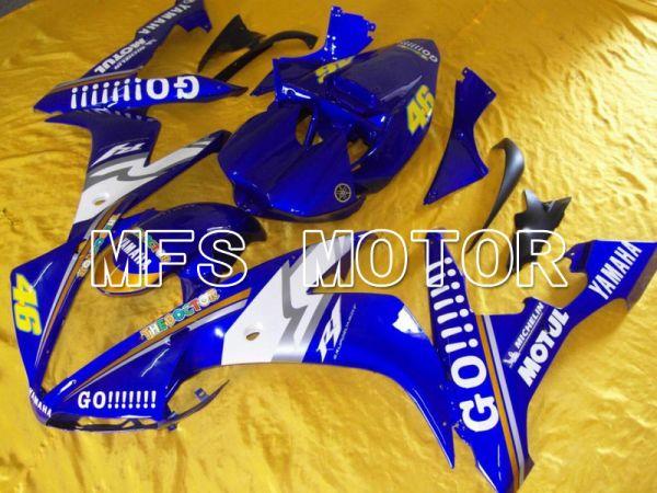 Yamaha YZF-R1 2004-2006 Injection ABS Fairing - GO!!!!!!! - Blue - MFS5038