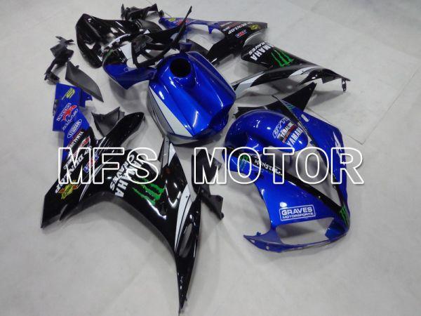 Yamaha YZF-R1 2004-2006 Injection ABS Fairing - Monster - Black Blue - MFS5039