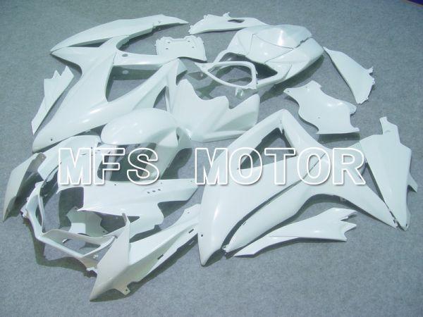 Suzuki GSXR600 GSXR750 2008-2010 Injection ABS Fairing - Factory Style - White - MFS5043