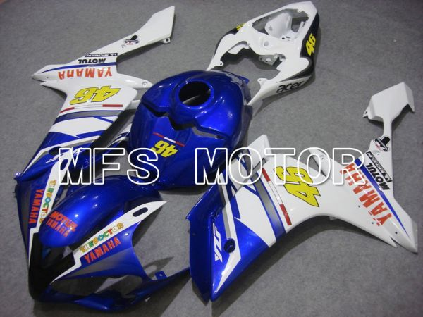 Yamaha YZF-R1 2007-2008 Injection ABS Fairing - FIAT - Blue White - MFS5052