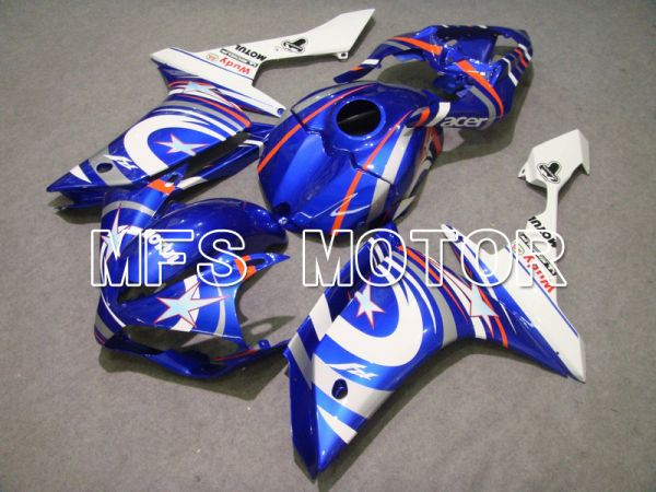 Yamaha YZF-R1 2007-2008 Injection ABS Fairing - FIAT - Blue White - MFS5053