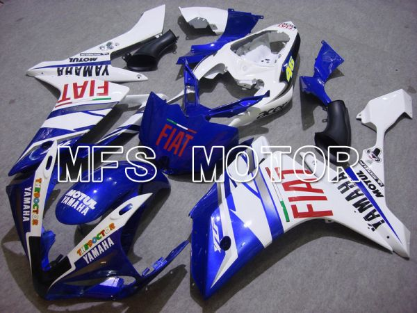 Yamaha YZF-R1 2007-2008 Injection ABS Fairing - FIAT - Blue White - MFS5054