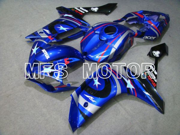 Yamaha YZF-R1 2007-2008 Injection ABS Fairing - FIAT - Blue White - MFS5055
