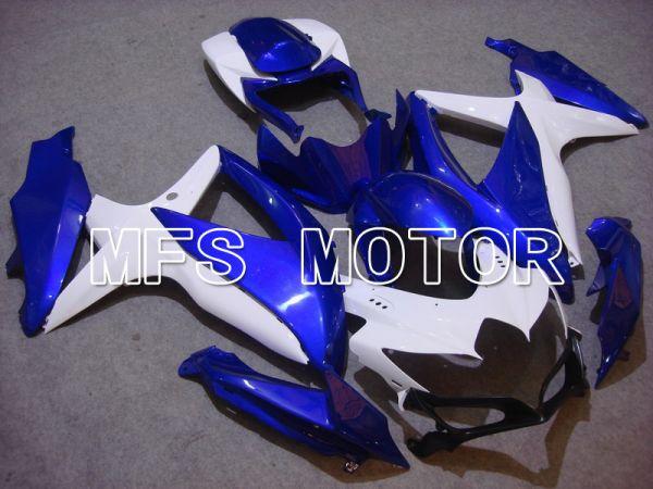 Suzuki GSXR600 GSXR750 2008-2010 Injection ABS Fairing - Factory Style - Blue White - MFS5081