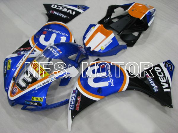 Yamaha YZF-R1 2009-2011 Injection ABS Fairing - MOTORPOINT - Black Blue - MFS5087