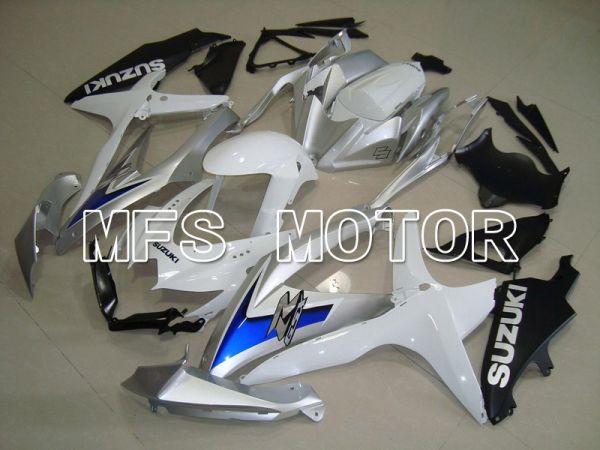Suzuki GSXR600 GSXR750 2008-2010 Injection ABS Fairing - Factory Style - White Silver - MFS5090