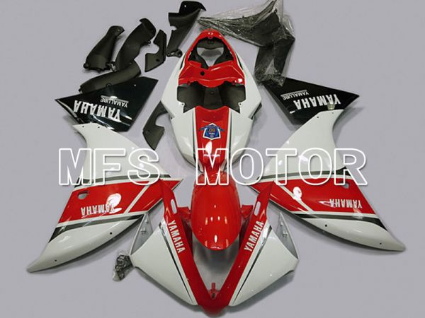 Yamaha YZF-R1 2009-2011 Injection ABS Fairing - Factory Style - Red White - MFS5098