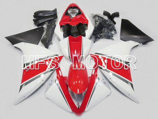 Yamaha YZF-R1 2009-2011 Injection ABS Fairing - Factory Style - Red White - MFS5099