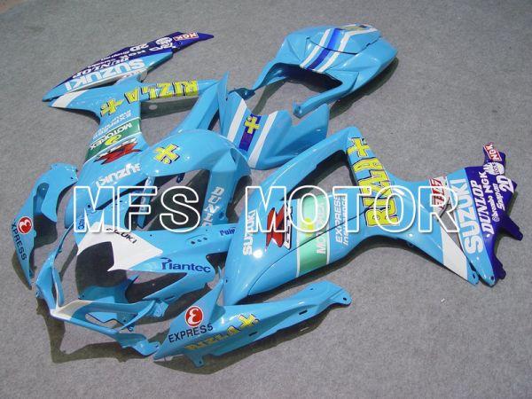 Suzuki GSXR600 GSXR750 2008-2010 Injection ABS Fairing - Rizla+ - Blue - MFS5120