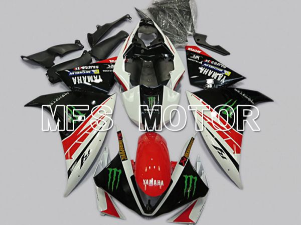 Yamaha YZF-R1 2009-2011 Injection ABS Fairing - Monster - Red White - MFS5123
