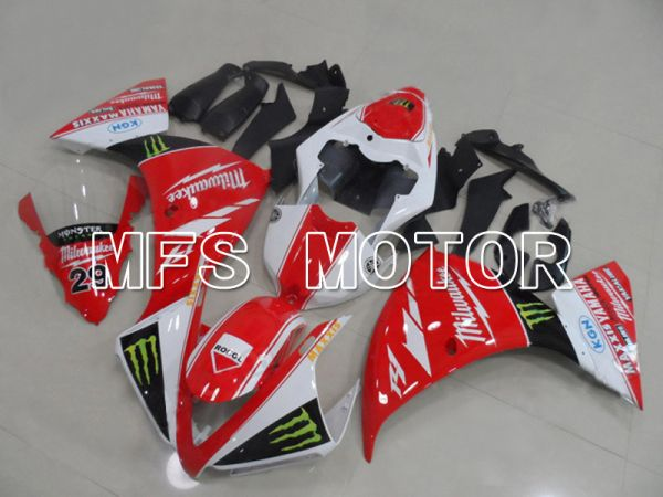 Yamaha YZF-R1 2009-2011 Injection ABS Fairing - Monster - Red White - MFS5124