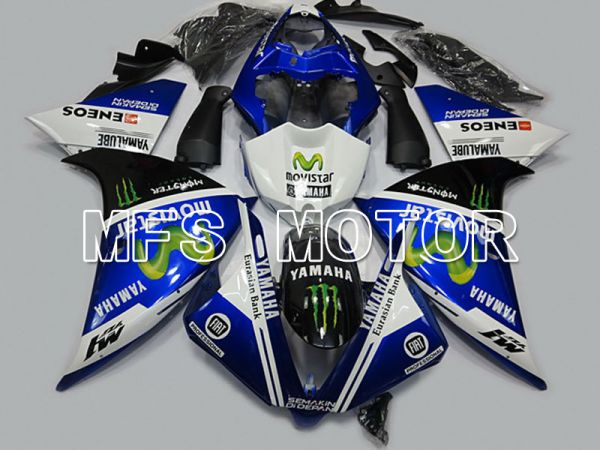 Yamaha YZF-R1 2009-2011 Injection ABS Fairing - Monster - Black Blue - MFS5125