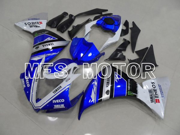 Yamaha YZF-R1 2009-2011 Injection ABS Fairing - Monster - Black Blue - MFS5126