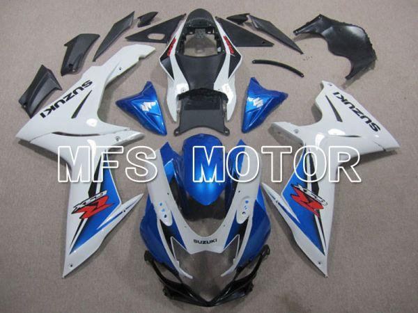 Suzuki GSXR600 GSXR750 2011-2016 Injection ABS Fairing - Factory Style - Blue White - MFS5129