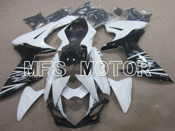 Suzuki GSXR600 GSXR750 2011-2016 Injection ABS Fairing - Factory Style - Black White - MFS5134
