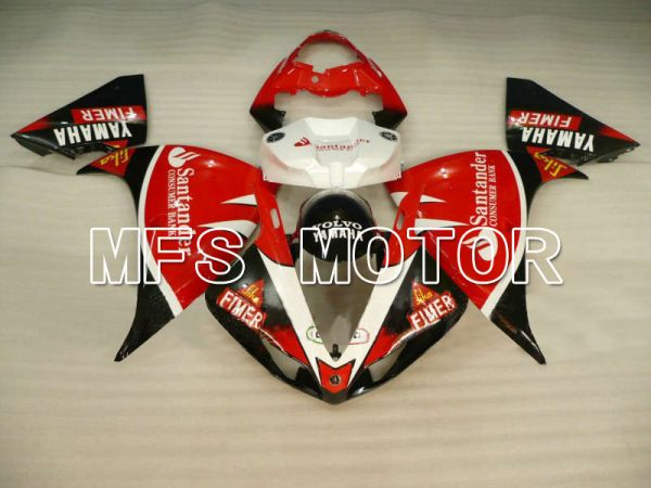Yamaha YZF-R1 2009-2011 Injection ABS Fairing - Santander - Black Red - MFS5137