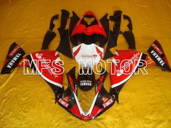 Yamaha YZF-R1 2009-2011 Injection ABS Fairing - Santander - Black Red - MFS5138
