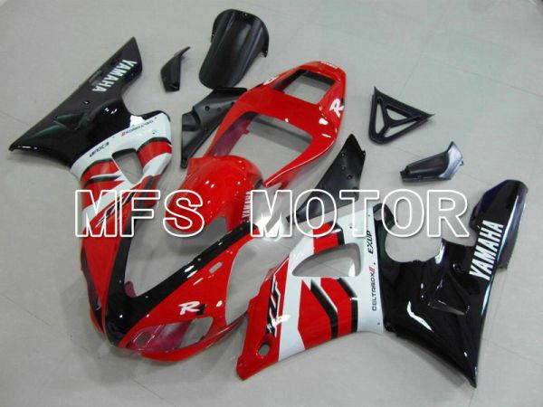 Yamaha YZF-R1 1998-1999 Injection ABS Fairing - Factory Style - Red White - MFS5143