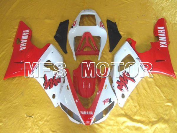 Yamaha YZF-R1 1998-1999 Injection ABS Fairing - Factory Style - Red White - MFS5144