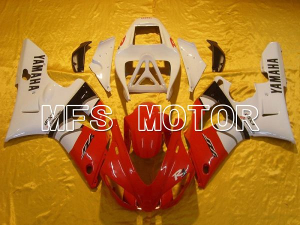 Yamaha YZF-R1 1998-1999 Injection ABS Fairing - Factory Style - Red White - MFS5145