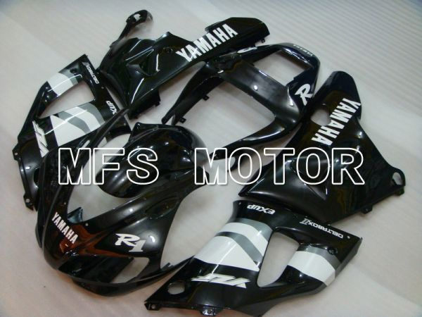 Yamaha YZF-R1 1998-1999 Injection ABS Fairing - Factory Style - Black White - MFS5146