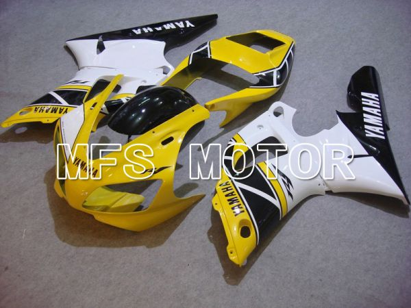 Yamaha YZF-R1 1998-1999 Injection ABS Fairing - Factory Style - Black White Yellow - MFS5154