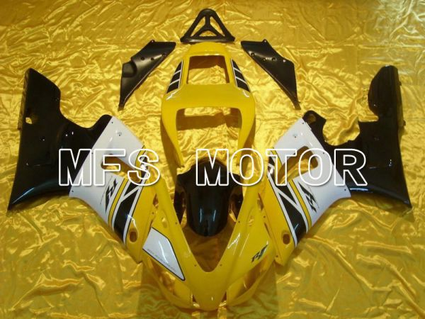 Yamaha YZF-R1 1998-1999 Injection ABS Fairing - Factory Style - Black White Yellow - MFS5156