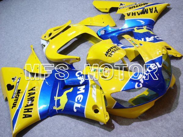 Yamaha YZF-R1 1998-1999 Injection ABS Fairing - Camel - Blue Yellow - MFS5159