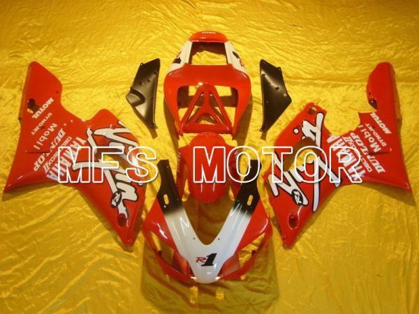 Yamaha YZF-R1 1998-1999 Injection ABS Fairing - DUNLOP - Red - MFS5163