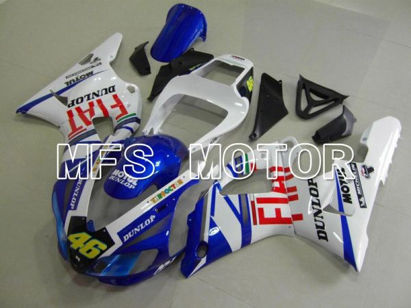 Yamaha YZF-R1 1998-1999 Injection ABS Fairing - FIAT - Blue White - MFS5170