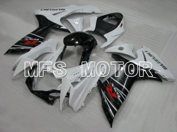 Suzuki GSXR600 GSXR750 2011-2016 Injection ABS Fairing - Factory Style - Black White - MFS5175