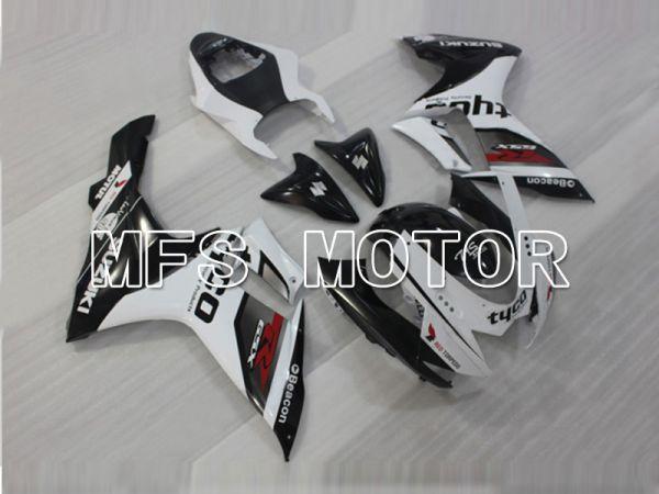 Suzuki GSXR600 GSXR750 2011-2016 Injection ABS Fairing - tyco - Black White - MFS5176