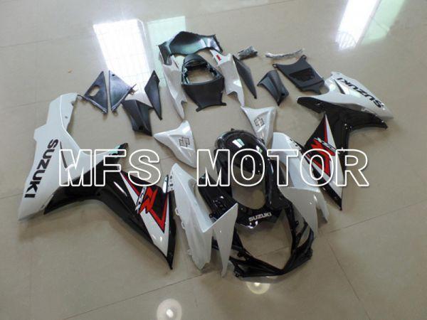 Suzuki GSXR600 GSXR750 2011-2016 Injection ABS Fairing - Factory Style - Black White - MFS5177