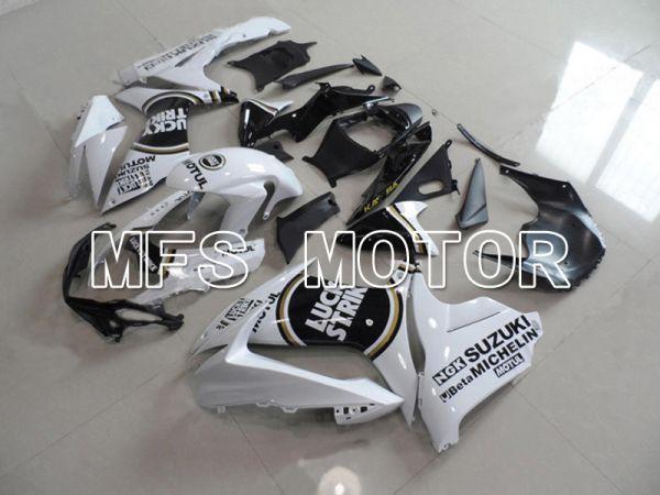 Suzuki GSXR600 GSXR750 2011-2016 Injection ABS Fairing - Lucky Strike - Black White - MFS5178