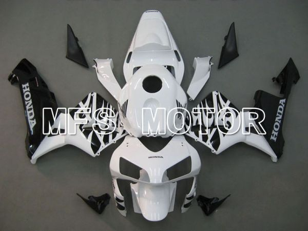 Honda CBR600RR 2003-2004 ABS Injection Fairing - Others - White Black - MFS5187