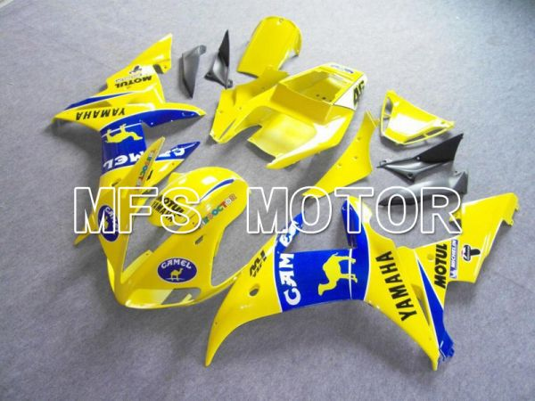 Yamaha YZF-R6 2003-2004 Injection ABS Fairing - Camel - Blue Yellow - MFS5193