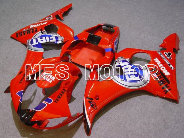 Yamaha YZF-R6 2003-2004 Injection ABS Fairing - FIAT - Red - MFS5203