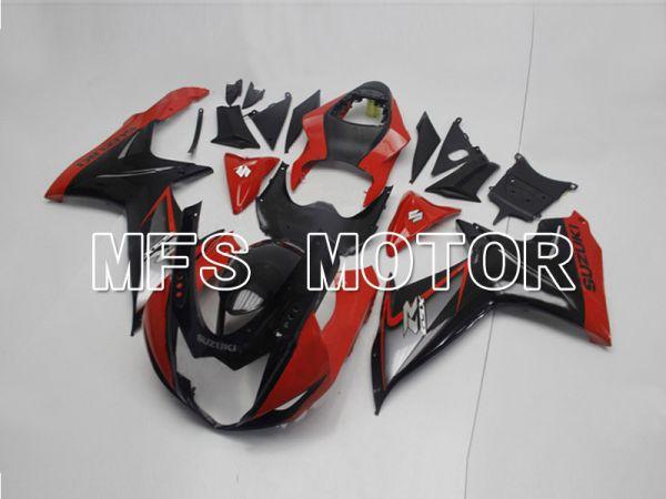 Suzuki GSXR600 GSXR750 2011-2016 Injection ABS Fairing - Factory Style - Black Red - MFS5207