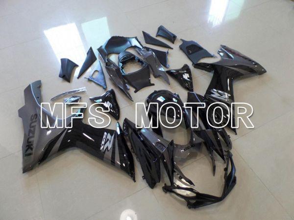 Suzuki GSXR600 GSXR750 2011-2016 Injection ABS Fairing - Factory Style - Black Gray - MFS5208