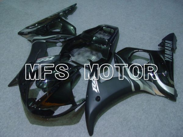 Yamaha YZF-R6 2003-2004 Injection ABS Fairing - Flame - Silver Black - MFS5210