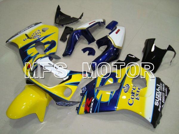 Suzuki GSXR600 1997-2000 ABS Fairing - Corona - Blue Yellow - MFS5211